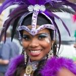 Samba dancer — Stock Photo