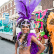 Samba dancer — Stock Photo