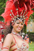 LUTON - MAY 31: Samba dancers — Stock Photo