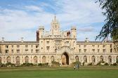 St John Collge, University of Cambridge, New Court — Stock Photo