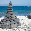 Christmas cairn — Stock Photo