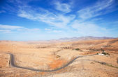 Inland Fuerteventura, Canary Islands, Province of Betancuria — Stock Photo
