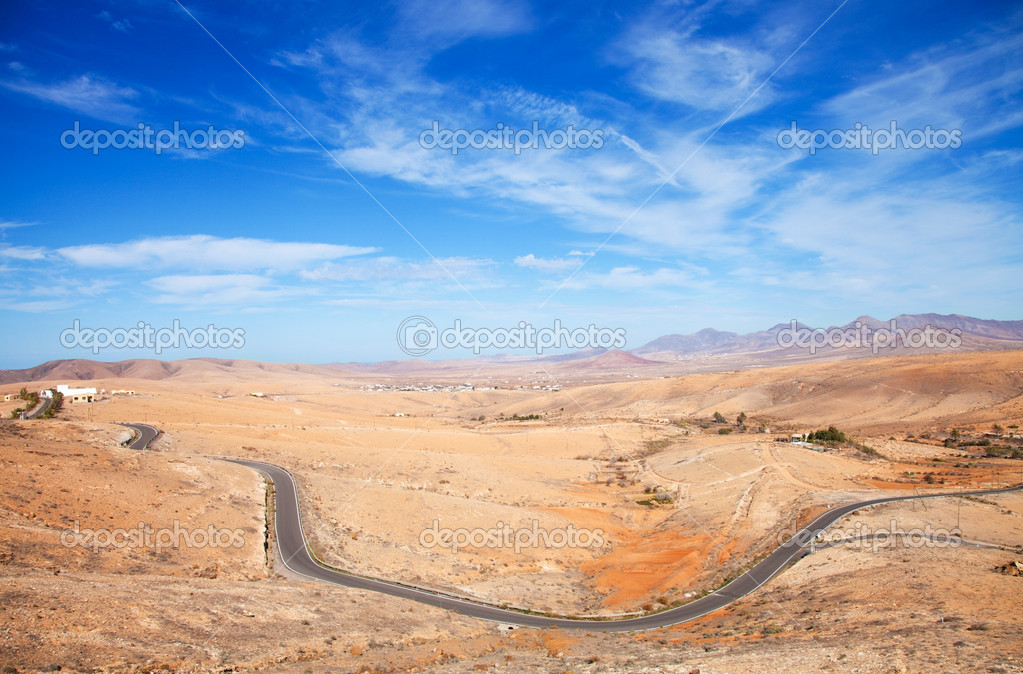 Inland Fuerteventura, Canary Islands, Province of Betancuria  Stock Photo #8503157