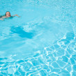 Beautiful snimming pool background — Stock Photo #8649897