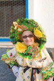 Puerto del Rosario, Spain - FEBRUARY 25: Lady of the Butterlies, — Stock Photo