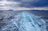 Balsa de mar, ilhas canárias — Fotografia Stock
