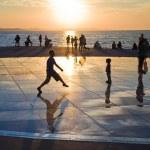 Greeting to the Sun, Zadar, Croatia — Stock Photo #9785982