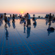 Greeting to the Sun, Zadar, Croatia - Stock Photo