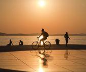 Greeting to the Sun, Zadar, Croatia — Stock Photo
