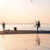 Greeting to the Sun, Zadar, Croatia — Stock Photo