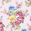 Floral background , element for blue design pattern — ストックベクタ