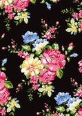 Floral background , element for blue design pattern — Stock Vector