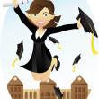 Stock Vector: Graduation