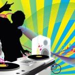 DJ music — Stock Vector #8164116