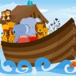 Noahs Ark — Vector de stock #8164142