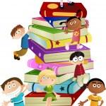 Children education — Stock Vector