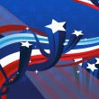 Stockvector : Fourth of July banner