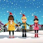 Christmas children — Stock Vector