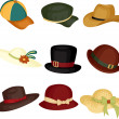 Hats — Vector de stock #8181475