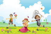 Happy spring images for kids