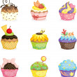 Cupcakes — Stock Vector #8311706