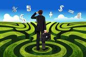 Business finance — Stock Vector