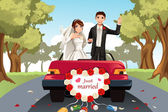 Married couple — Stock Vector