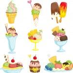 Ice cream — Stock Vector #8703271
