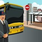 Постер, плакат: Bus driver