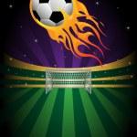 Soccer background — Stock Vector #9018474