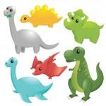 Dinosaurs — Stock Vector #9714439