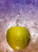 Verse groene appel — Stockfoto
