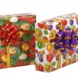 Boxes with gifts. — Stock Photo