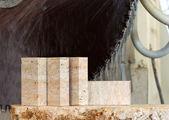 Blocos de pedra calcária — Foto Stock