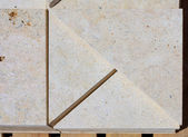 Limestone blocks — Stock Photo
