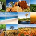 montaż Australia — Zdjęcie stockowe #9857240