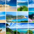 Beaches Montage — Stock Photo