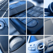 Technology Montage — Stock Photo #9857246