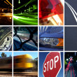 Transport Montage — Foto de Stock
