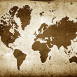 Grunge Globe Sepia - Foto de Stock  
