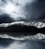 Mountain Reflection — Stock Photo