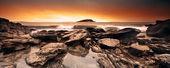 Panoramic Surf — Stock Photo