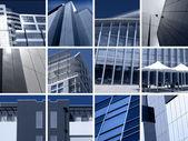 Montaje de la arquitectura moderna — Foto de Stock