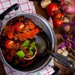 Mexican speciality - Chili con carne — Stock Photo