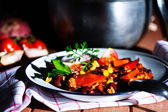 Mexican speciality - Chili con carne — Stock Photo
