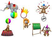 Circus animal — Stock Vector