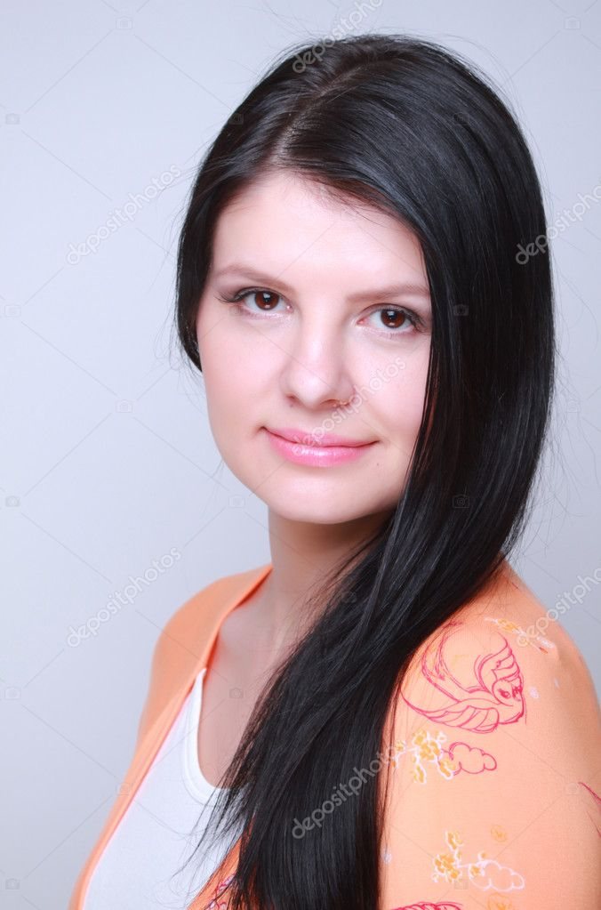 Wellness, cosmetics and romantic style of pretty young woman — Stock Photo #10300025
