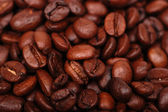 Textured coffee beans — Stock Photo