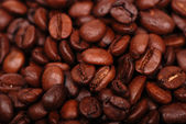 Coffee beans in low key — Stock Photo
