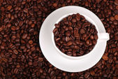 Top view of coffee — Stock Photo